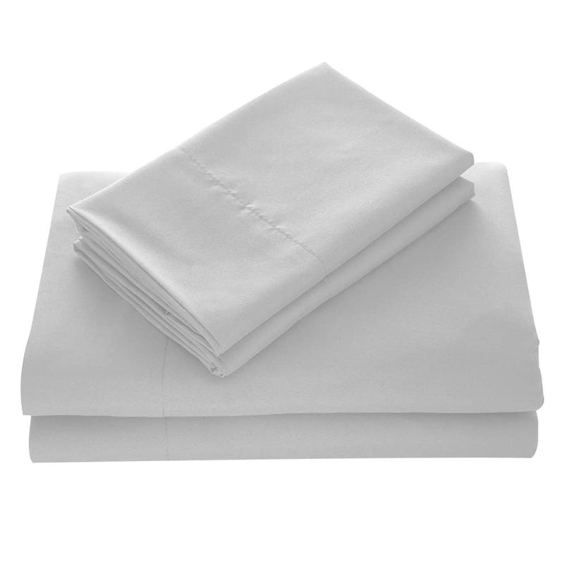 Double Sheet Set Light Grey