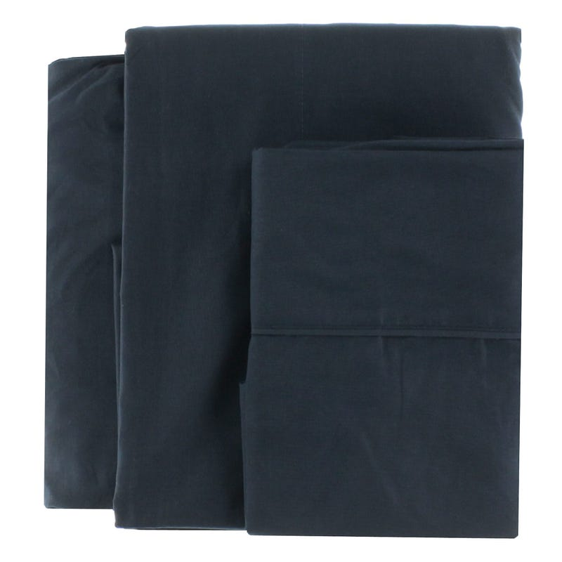Double Sheet Set - Navy