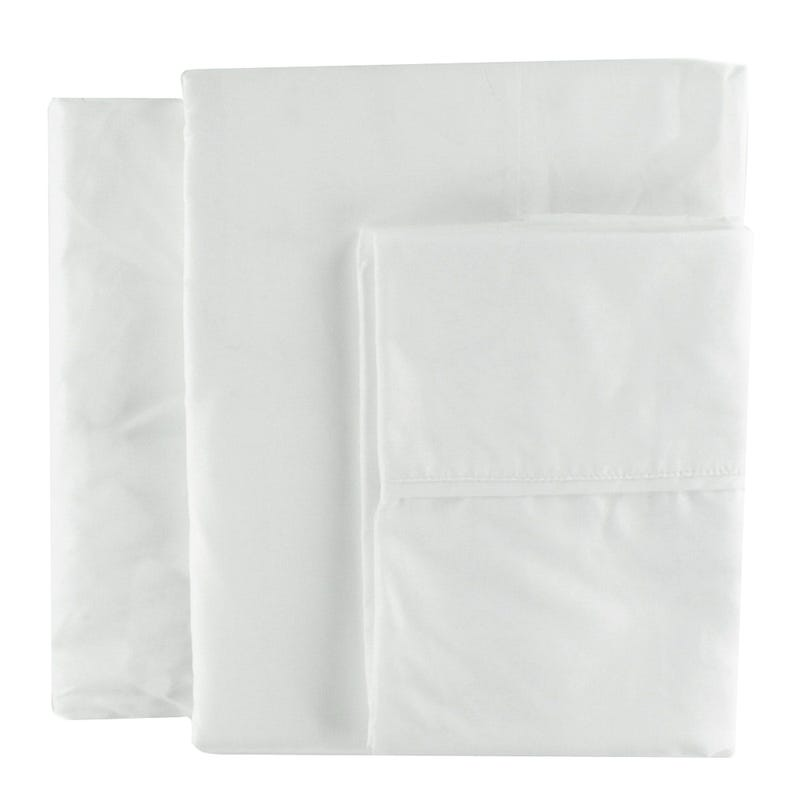 Double Sheet Set - White