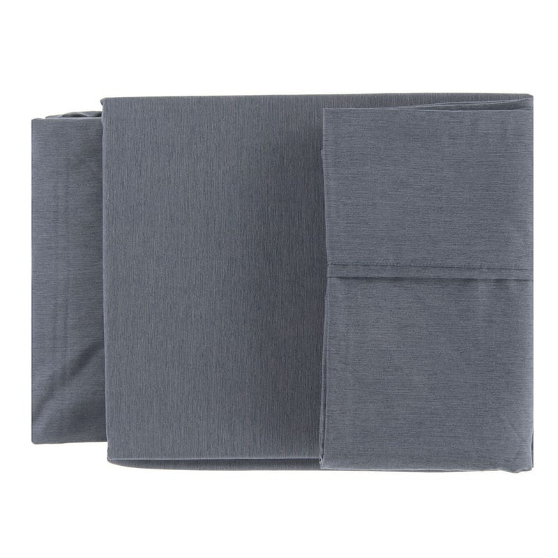 Double Sheet Set - Grey Bamboo