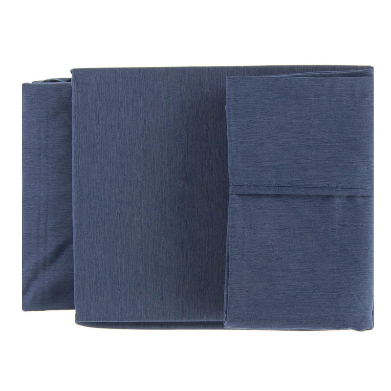Double Sheet Set - Denim Bamboo