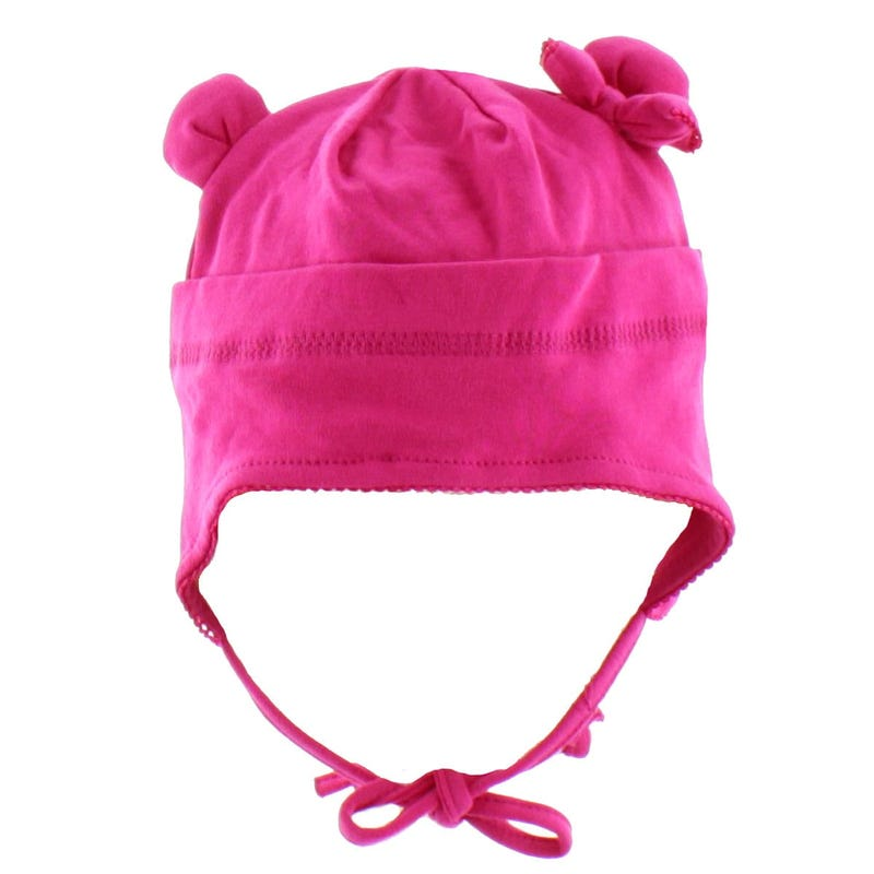 Bear Buckle  Hat 0-18m