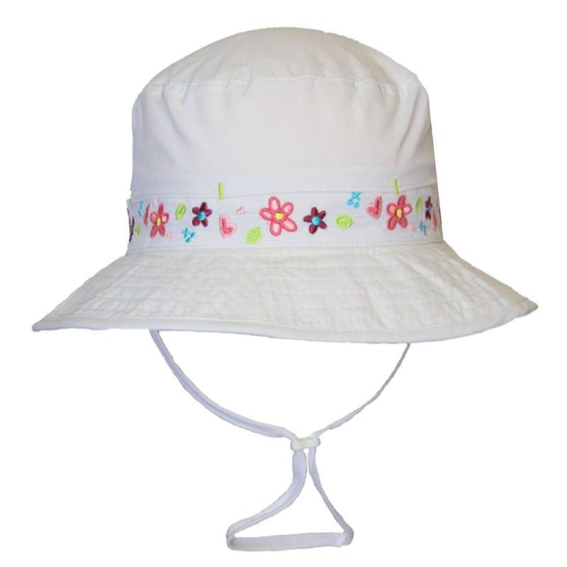 Chapeau UV Fleurs 0-18mois