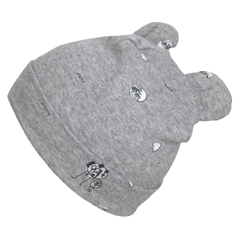 Printed Bear Hat 0-9m