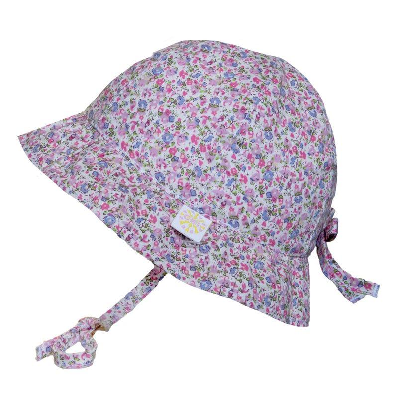 Chapeau Coton Imprimé Fleurs 0-18mois