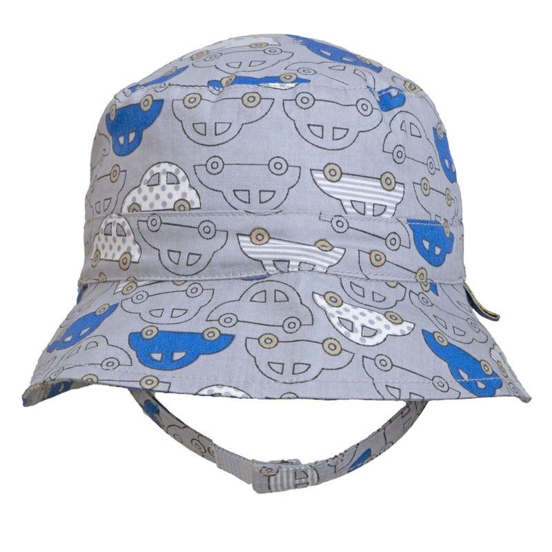 Car Print Cotton Hat 0-18m