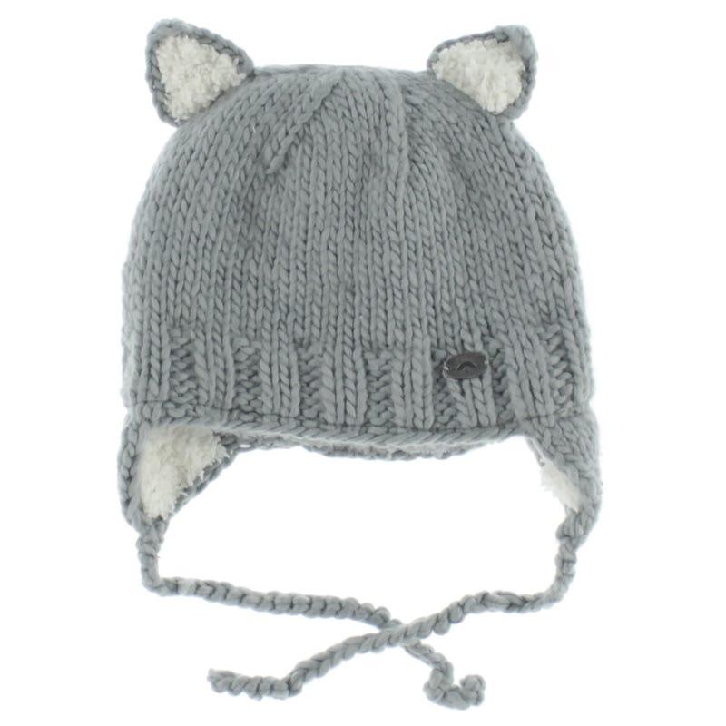 Knit Cat Hat 9-18m