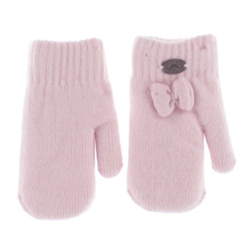 Bow Mittens 9-24m