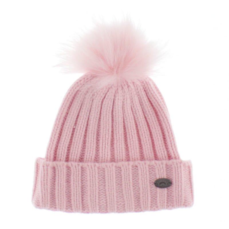 Cashmere Touch Pom Pom Hat 2-5y
