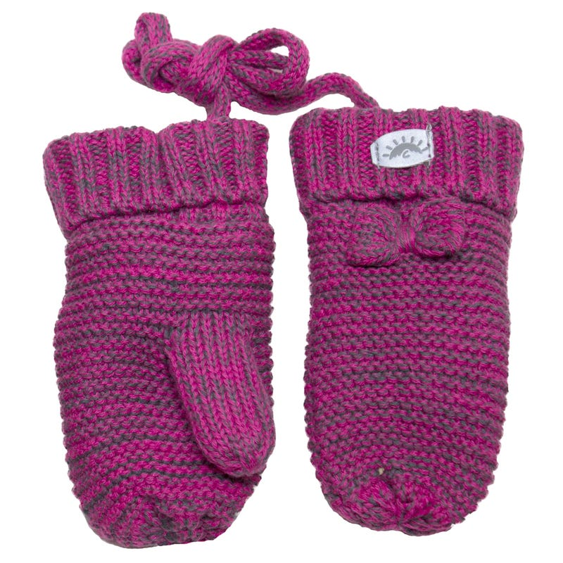 Mitaine Tricot Fille 9-18m