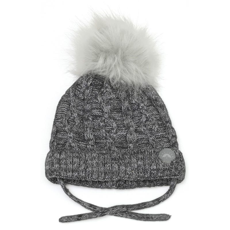 Cable Cotton Knit Beanie 18-3y