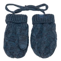 Cable Cotton Knit Mittens 3-18m