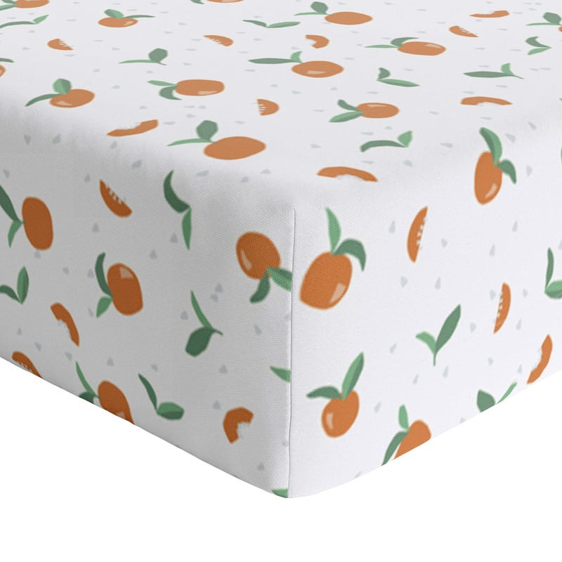 Drap Contour Bébé - Tangerine