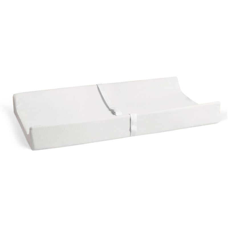 Changing Pad Cover - White Ivory