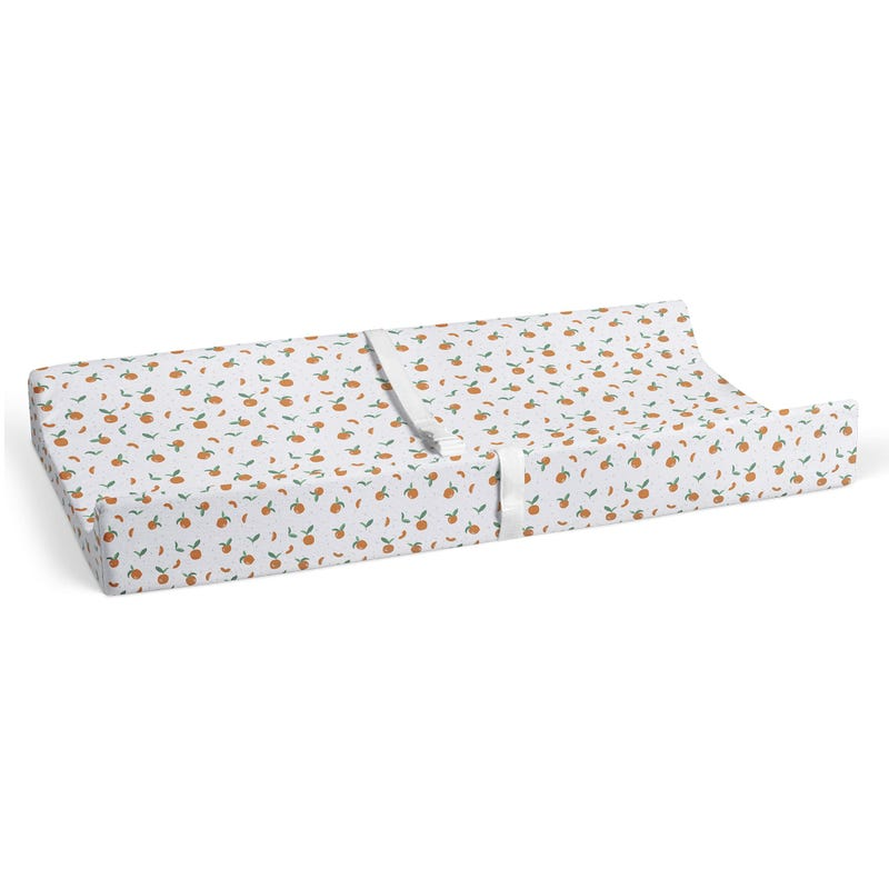 Changing Pad Cover - Tangerine