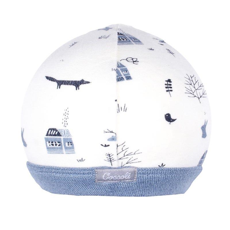 Blue Ski Hat 0-12m