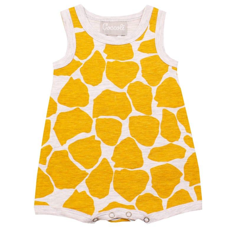 Barboteuse Imprimé Girafe 1-18mois