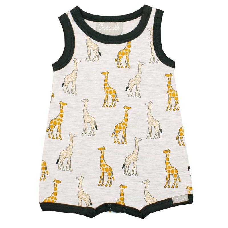 Giraffe Romper 1-18m