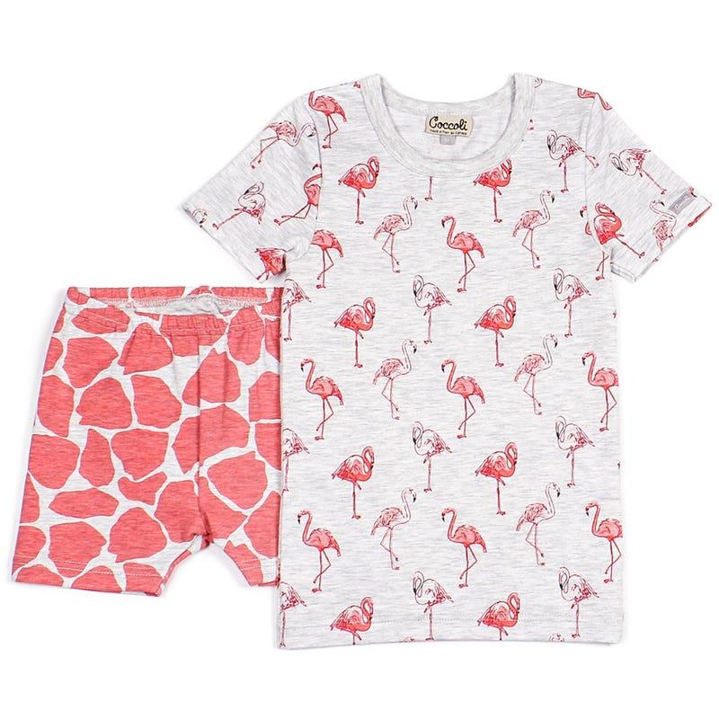Flamingo 2pcs Pajamas 12-24m