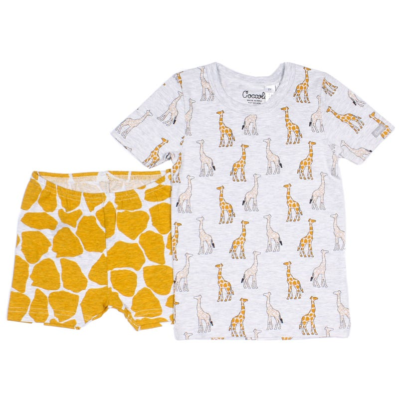 Pyjama 2 pièces Court Girafe 12-24mois