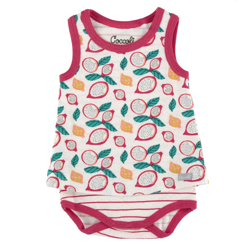 Fruity Skirted Romper 1-18m