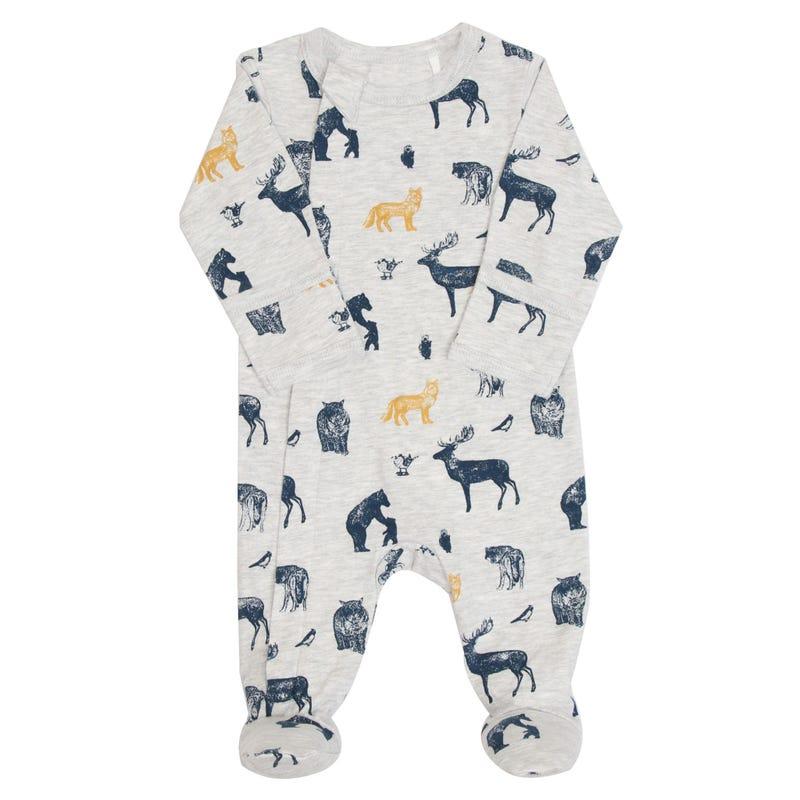Pyjama Loups 1-18mois