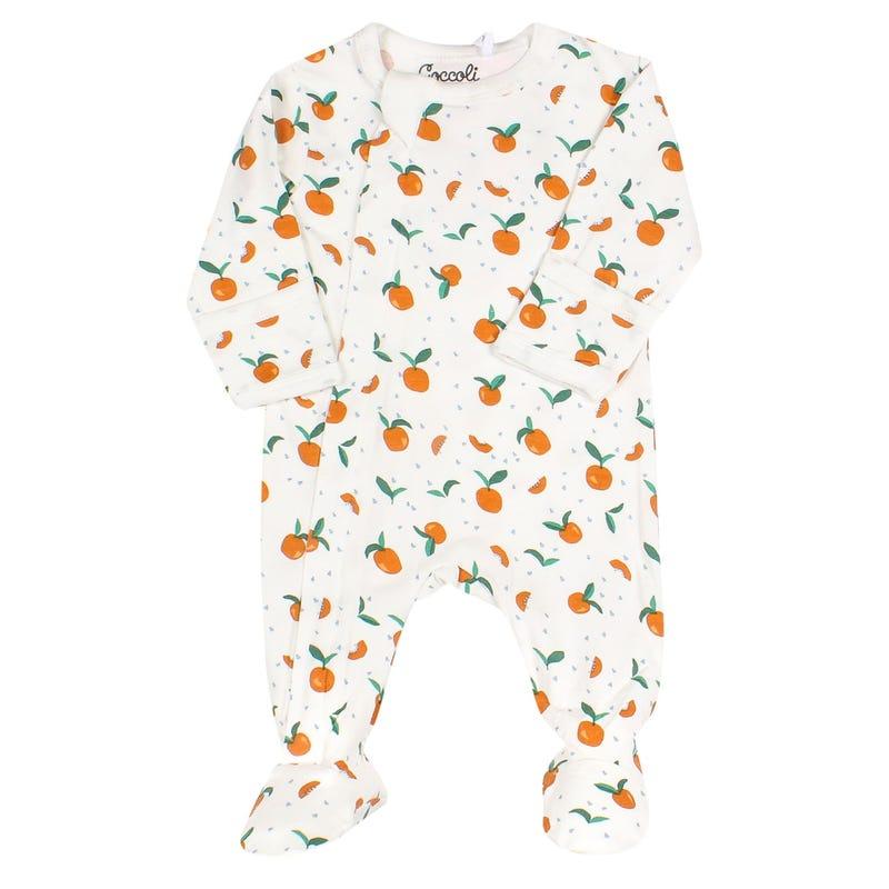 Serengeti Peach Pajamas 1-18m