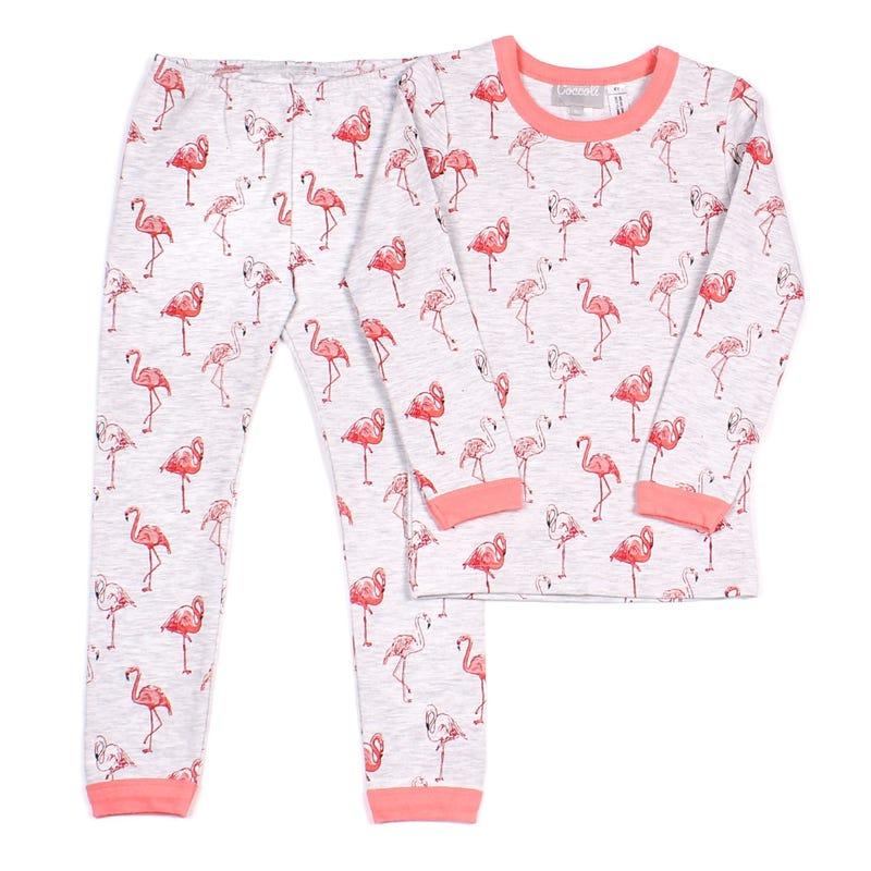 Pyjama 2 Pièces Long Flamant 2-12ans