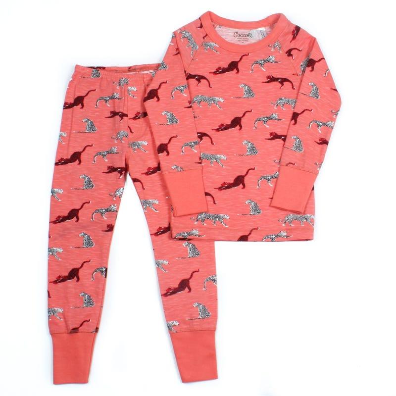 Pyjama 2 Pièces Long Léopard 2-12ans