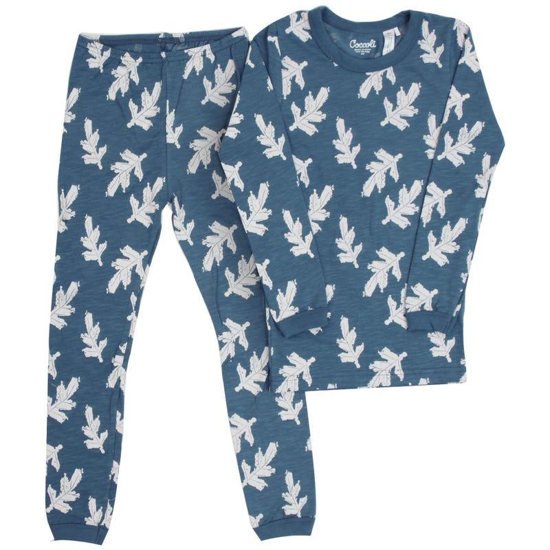 Leaves Pajamas 2-12y