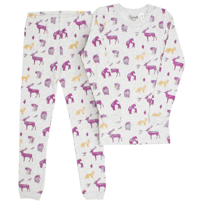 Pyjama Loups 2-12ans