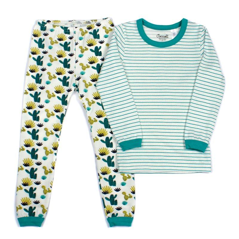 Pyjama 2 Pièces Long Cactus 2-12ans
