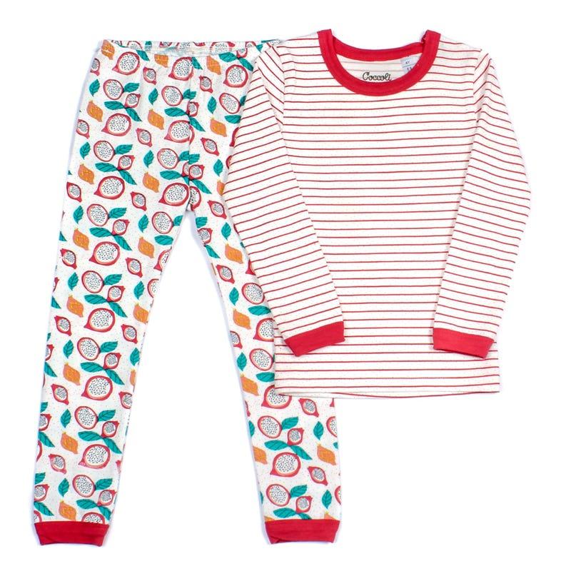 Pyjama 2 Pièces Long Fruité 2-12ans