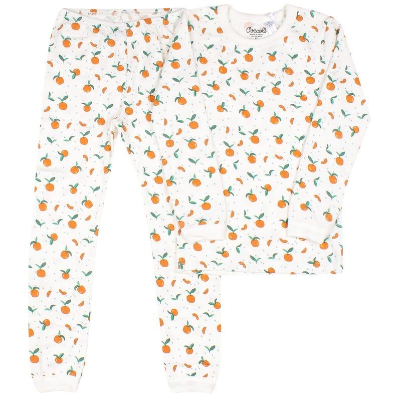 Serengeti Peach Pajamas 2-12y