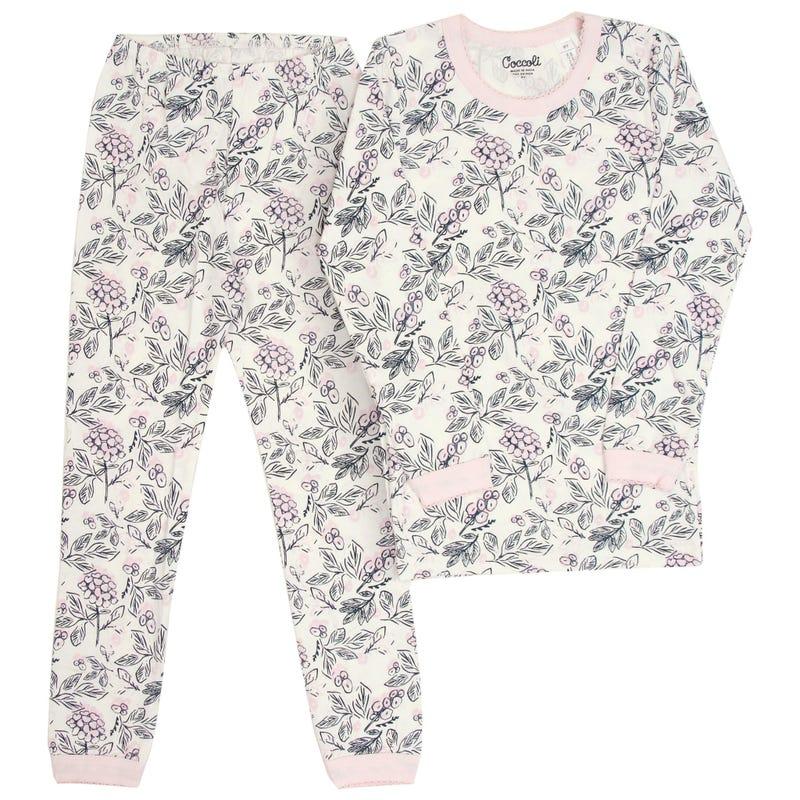 Flowers Pajamas 2-12y