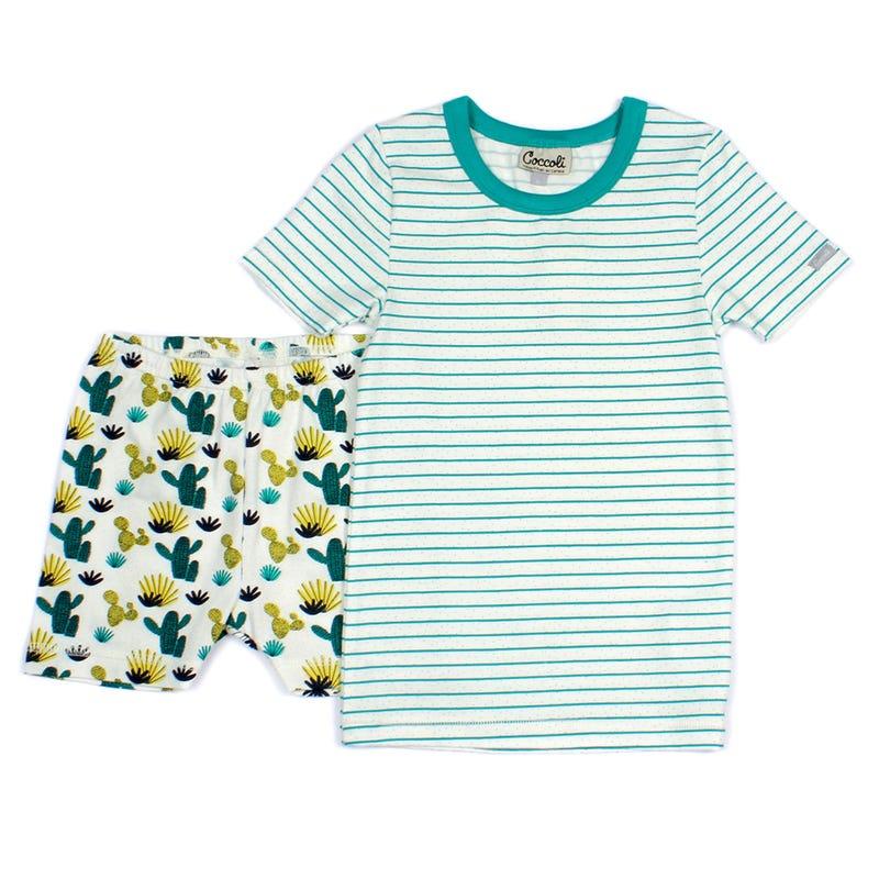 Pyjama 2 Pièces Court Cactus 2-12ans