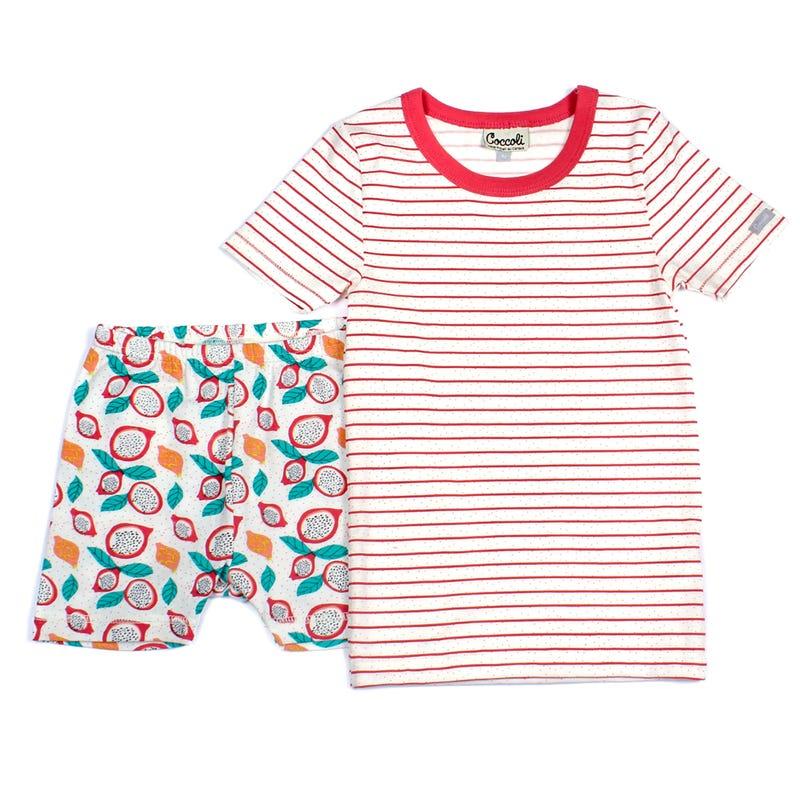 Pyjama 2 Pièces Court Fruité 2-12ans