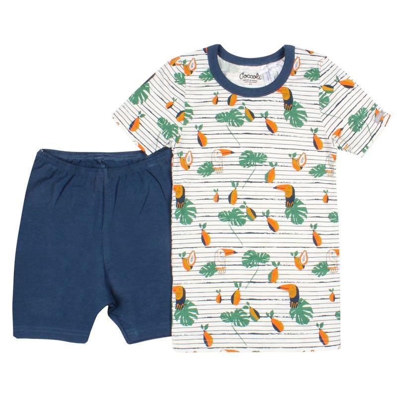 Pyjama Court Toucan 2-12ans
