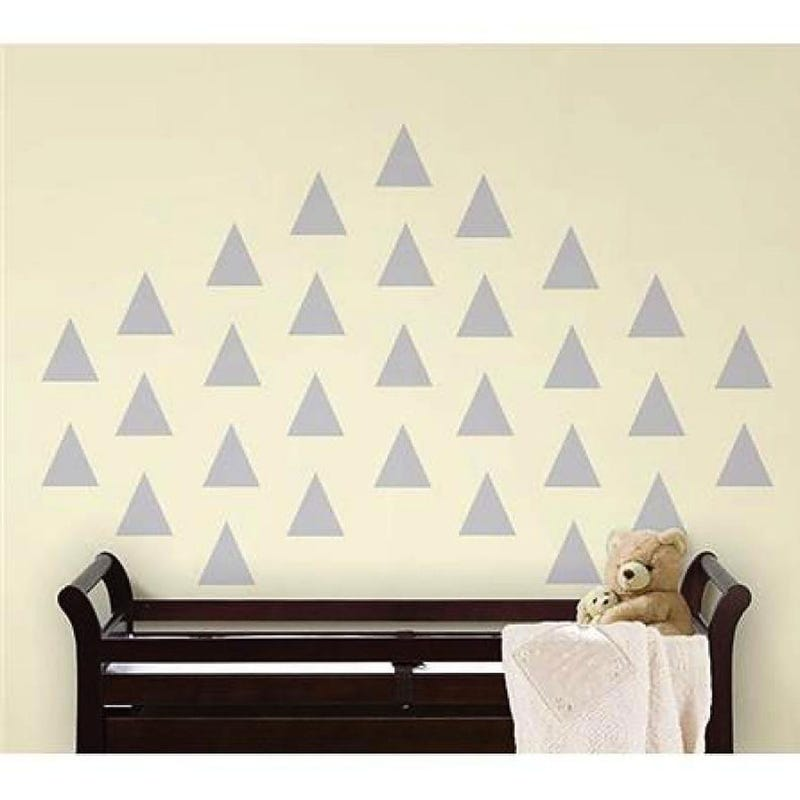 Wall Sticker - Gray Teepee