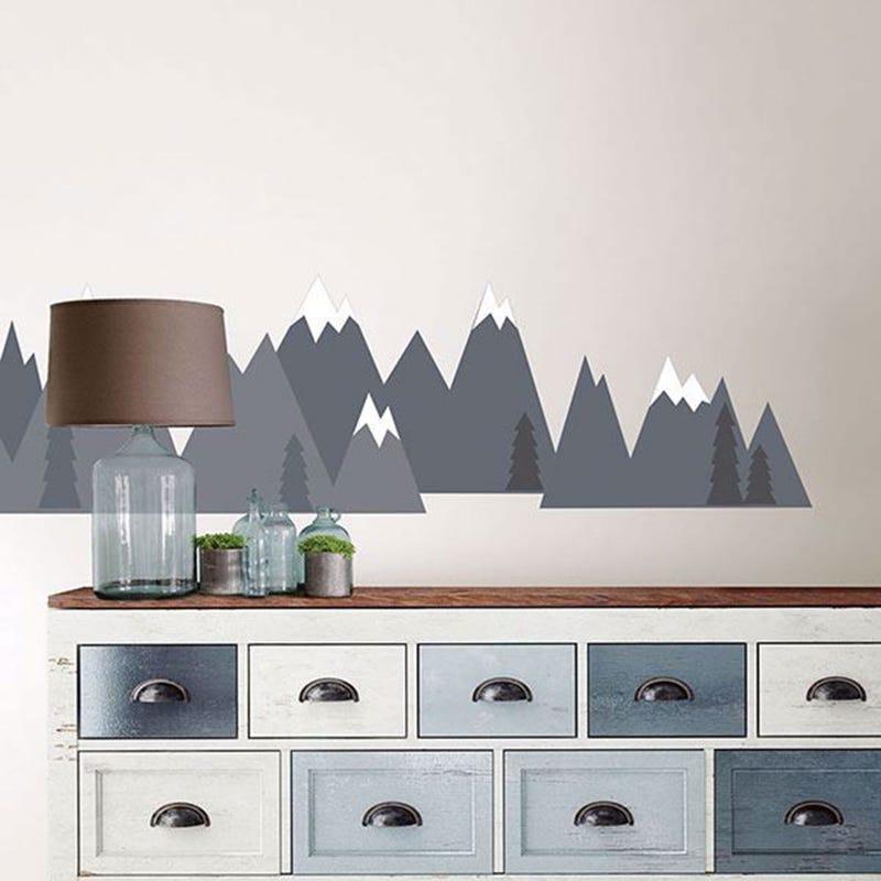 Wall Stickers - Mountain Range