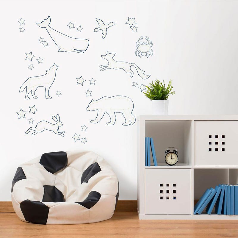Wall Stickers - Reach for the Stars Glow in the Dark