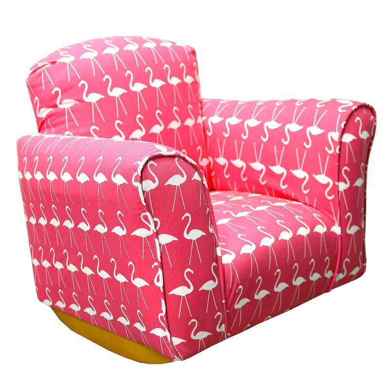 Rocking Armchair - Pink Flamingo