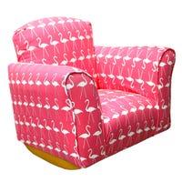 Rocking Armchair - Pink Flamingo
