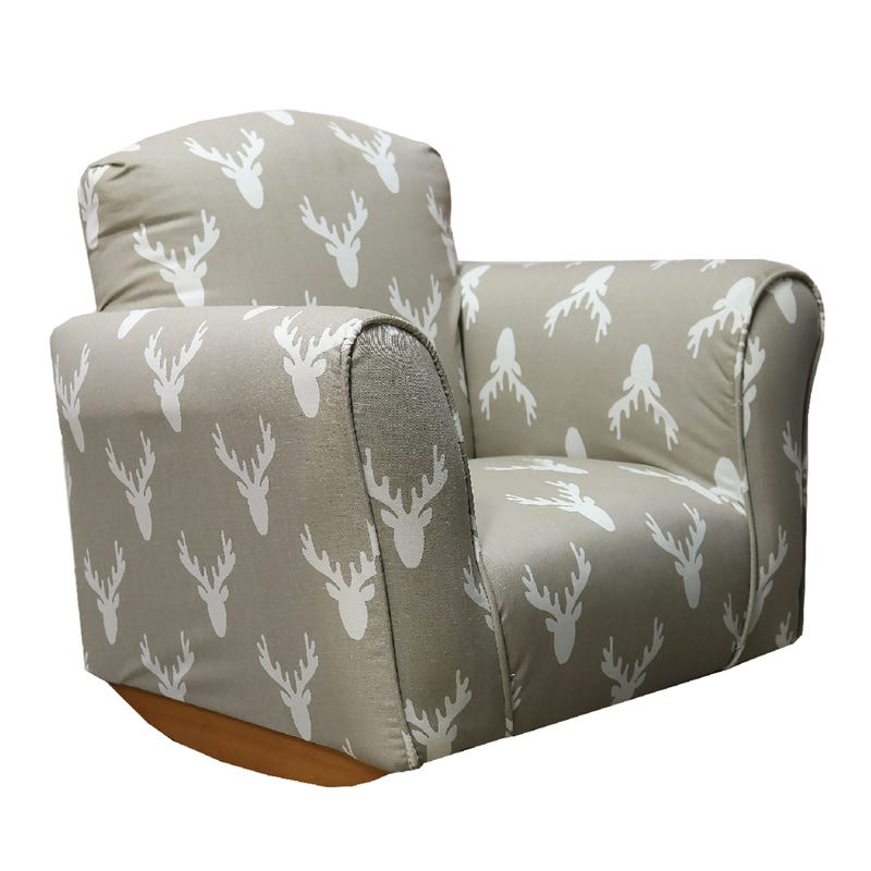 Rocking Armchair - Moose Head