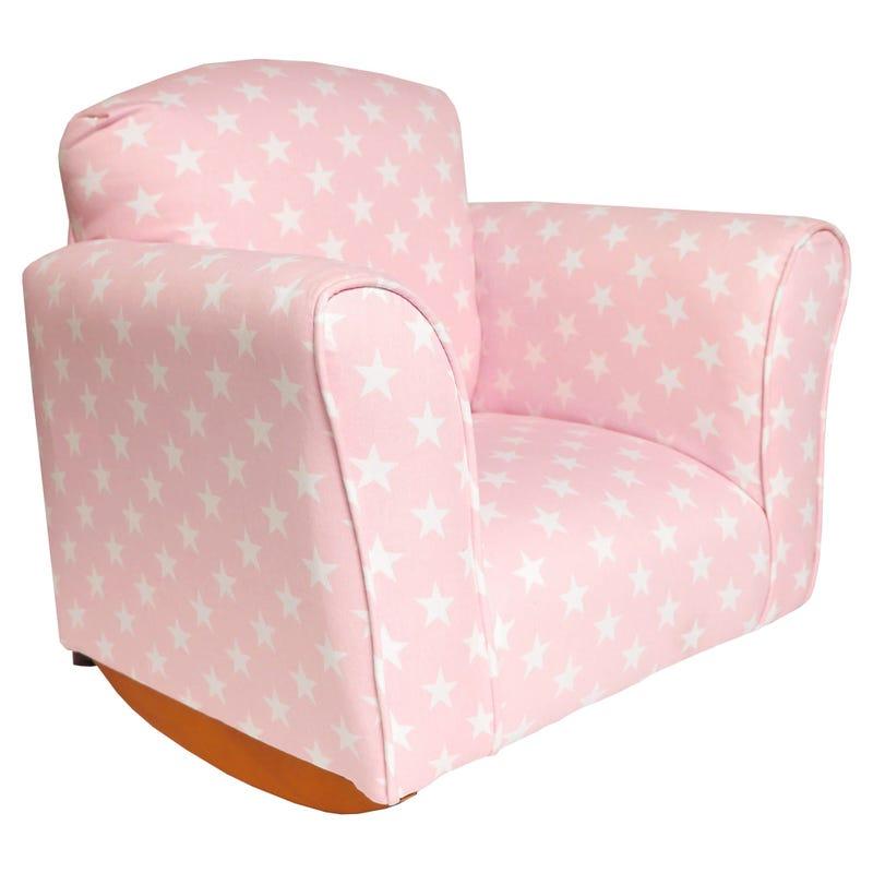 Rocking Armchair Stars Pink