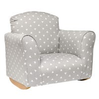 ROCKING CHAIR - GRAY TRIANGLE
