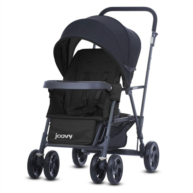 Caboose Double Stroller - Black