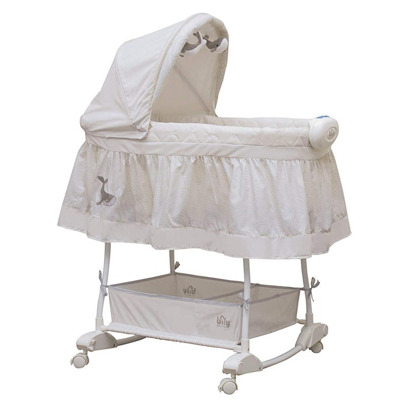 Bassinet Beige Whale