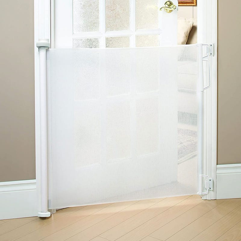 Safety Gate Retractable - White