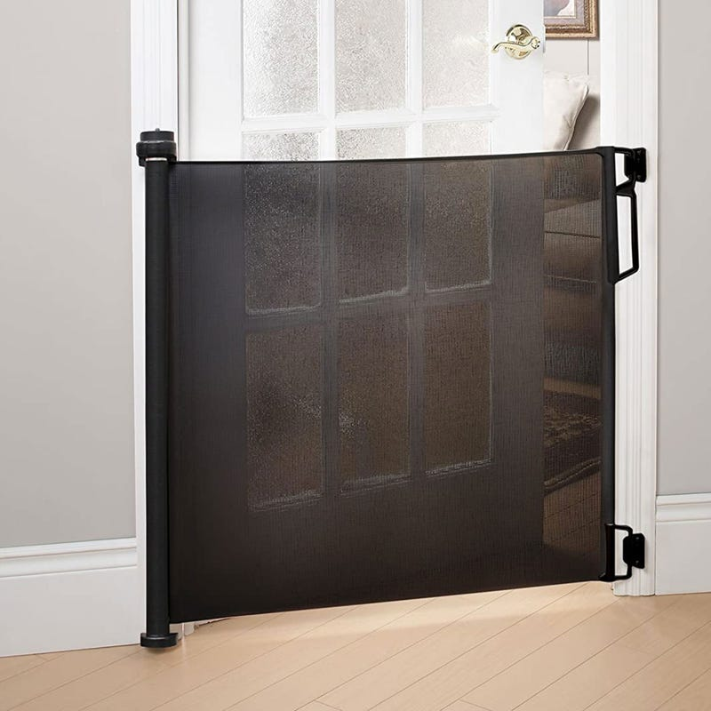 Safety Gate Retractable - Black